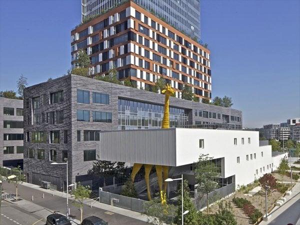 Giraffe childcare center Hondelatte Laporte Architectes