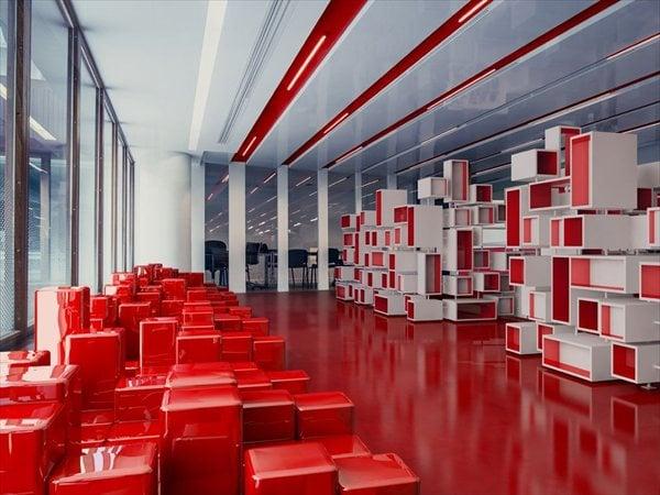 Ogilvy & Mather new headquarter Malka Architecture