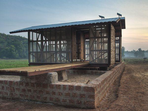 Hut to hut project Rintala Eggertsson Architects